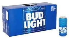 Bud Light 18 x 440ml cans reduced to clear £7.33 Tesco Extra Bedworth
