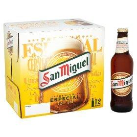 San Miguel Premium Lager.36x330 ml.£20 @ Asda.