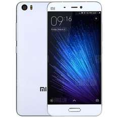 Xiaomi Mi5 64gb rom 3gb ram 5.15-inch Snapdragon 820 4G International edition White only £190.04 @ Gearbest