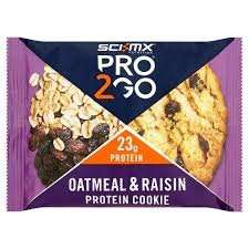 Sci-Mx Pro2Go Oatmeal and Raisin Protein Cookie just 20p down from £1.99 at Asda instore