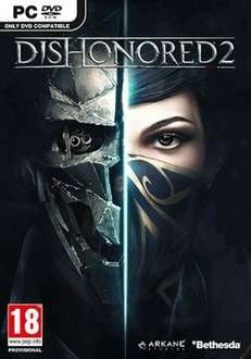 Dishonored 2 - PC DVD Retail - Steam - £14.99 @ Game.co.uk