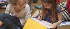 Free hands-on kids art workshops / drawing sessions on Sundays (incl. Easter) at National Gallery