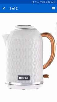 Breville Kettle White & Rose Gold (£39.99 was £79.99) @ Currys