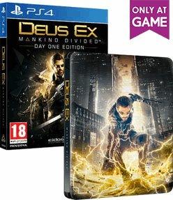 Deus Ex: Mankind Divided Steelbook Edition (PS4) £9.99 @ Game
