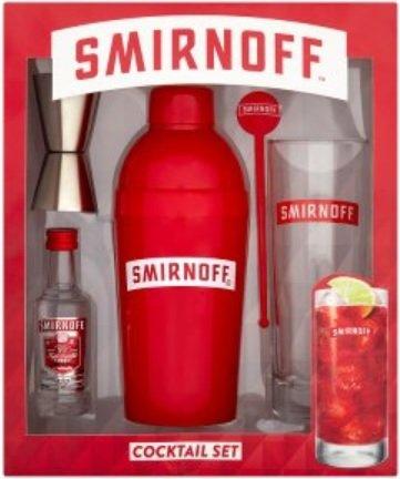 Smirnoff Vodka Cocktail Giftset £1.67 instore @ Iceland