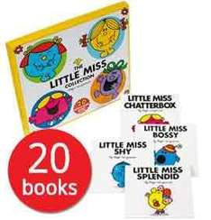Little Miss Book Collection 20 books £7.99 with code - thebookpeople