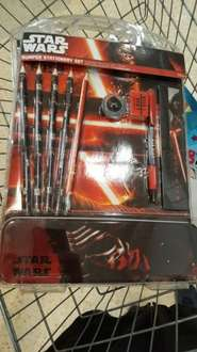 Star Wars Stationary Set 80p instore @ Sainsburys