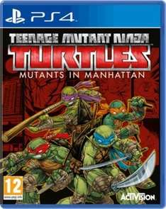 Teenage Mutant Ninja Turtles: Mutants in Manhattan (PS4/XO/PS3) £8.99 Delivered (Using Code) @ GAME