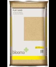 22.5kg bag of Blooma Play sand only £5 @ B&Q plus cheap sand toys and sand pits in post