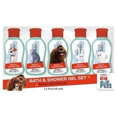 Secret life of Pets Bath and shower gel set reduced to £0.75 online (other items also available in clearance)@ Superdrug