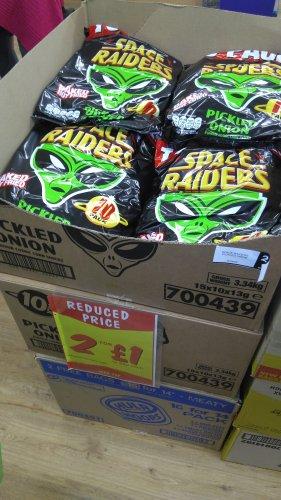2 x 10 Pack - Space Raiders £1 @ Fulton's
