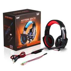 AOSO G9000 LED Light Gaming Headset PC / PS4  £7.99 with Prime or £10.98 Without / Free with £20 spend Sold by Aosotech UK Store and Fulfilled by Amazon