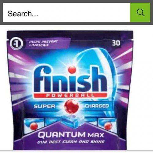 finish quantum max 30 £2 Asda instore