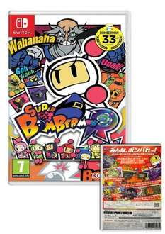 Super Bomberman R - Nintendo Switch £34.95 @ Simply Games