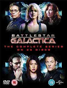 Battlestar Galactica: The Complete Series DVD £14.15 (Prime) @ Amazon