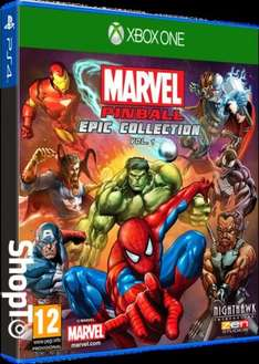 Marvel Pinball: Epic Collection – Volume 1 (Xbox One) £14.85 Delivered @ Shopto