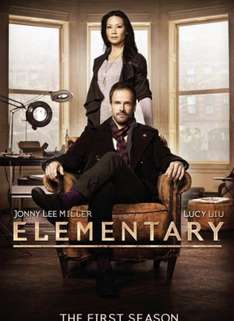 Elementary Season 1 DVD - £1.66 Prime / £3.65 Non Prime @ Amazon