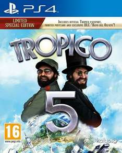 Tropico 5 Limited SE PS4 (like new) - £7.70 delivered Boomerang via Amazon