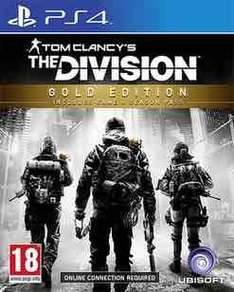 The Division Gold Edition £24.99 (PS4/XB1) @ GAME