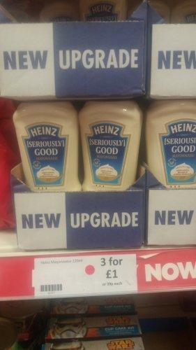 Heinz mayo 220ml x 3 for £1 in store Heron Foods