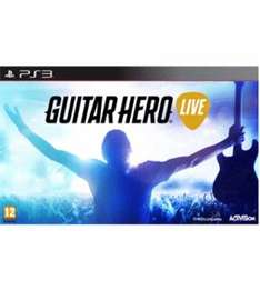 NEW Guitar Hero Live w/ Guitar £9.99 Delivered PS3/XBOX360 @Game