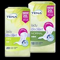 Free Tena sample - choose from 6 products for women and 3 for men!