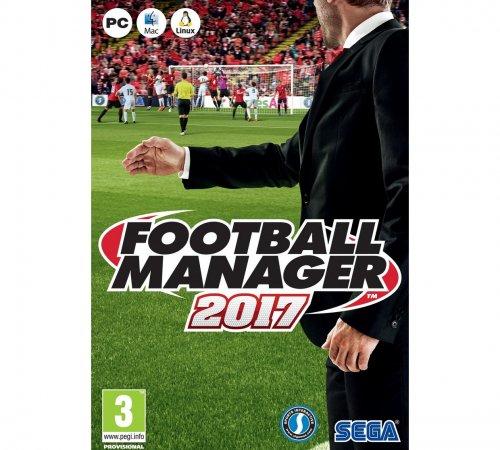 Football Manager 2017 PC Game - Argos - £16.99