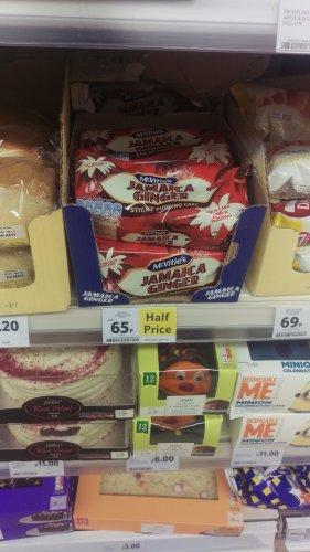 McVitie's Jamaica Cake - Half Price, In-store and Online - 65p @ Tesco