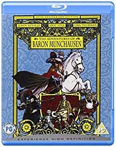 The Adventures Of Baron Munchausen (20th Anniversary Edition) [Blu-ray] [2008] £3.73 (Prime) at Amazon