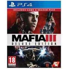 Mafia 3 Deluxe Edition PS4 & Xbox One £29.99 with Season Pass at Game Online and Instore