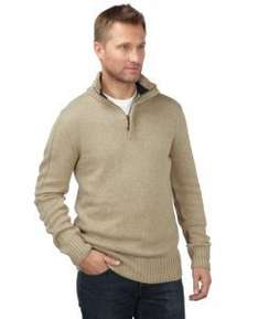 Charles Wilson Zip Neck Premium Blend Jumper - Various Colours & Sizes - £6.90 delivered