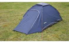 2 Man Dome Tent With Porch Down from £36 To £16 FREE C&C @ Halfords
