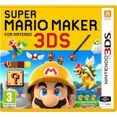 Super Mario Maker 3DS at 365Games for £24.99