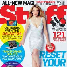 Stuff Magazine 3 issues for £1 (delivered) @ The Magazine Shop
