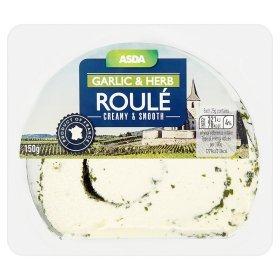 ASDA French Garlic & Herb Roulé (150g) was £1.84 now £1.00 (Rollback Deal) @ Asda
