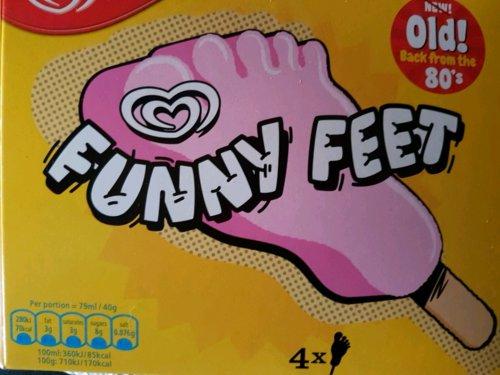 Walls Funny Feet 4 x 40g £1 instore @ Heron