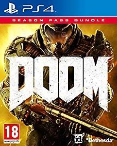 Doom Game + Season Pass Bundle (PS4) £18.99 with prime (+£1.99 non prime) @ amazon