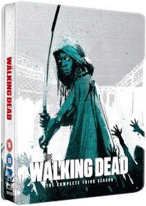 The Walking Dead: Season 3 - Limited Edition Steelbook Blu-ray @ Zavvi for £12.99