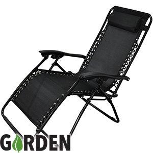 Miami Multiposition Zero Gravity Chair £22.99 @ Home Bargains