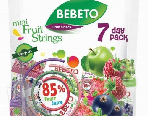 Bebeto Mini Fruit Strings 7 Day Pack  7x20g 79p instore @ Home Bargains