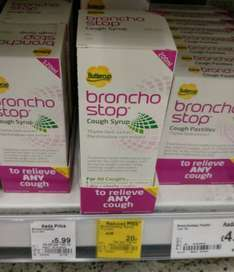 Bronchostop cough syrup 200ml 20p (reduced from £8.99) @ Asda instore