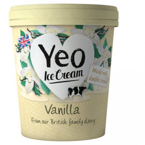 Yeo Valley Organic Ice Cream 500ml - £2.50 (£1.50 after cashback) @ Tesco