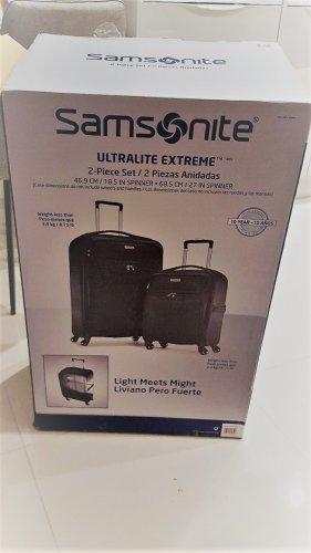 Samsonite Ultralite Extreme 2-piece suitcase set £69.97 instore @ Costco