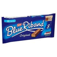 Blue Riband Biscuit - 8 pack. Half price 84p, In-store & Online @ Tesco