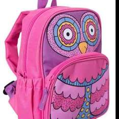 Kids Owl BackPack Was £17.99 Now £4.99 TCB 5.2% @ Mountain Warehouse