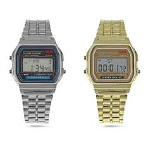cheap retro Men LED Watch Analog Wristwatch £2.74 Gearbest