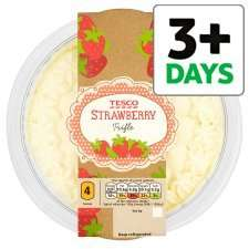Tesco Strawberry Trifle 600g half price £1.25 @ Tesco