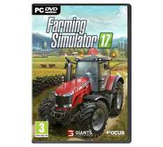 Farming Simulator 17 47% less than steam (PC) - £15.99 @ Argos