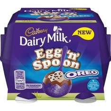Cadbury Dairy Milk Egg 'n' Spoon Chocolate/Oreo £1.00 @ B&M
