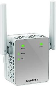 NETGEAR 11AC 750 Mbps (300 Mbps + 450 Mbps) Dual Band Gigabit Wi-Fi Range Extender - £24.99 @ Amazon